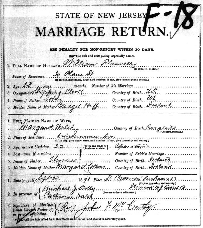 Marriage Records: Post-Scripts Blog